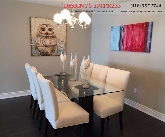 Dining Room, 2350 Bridletowne Circle, Scarborough Condo Staging