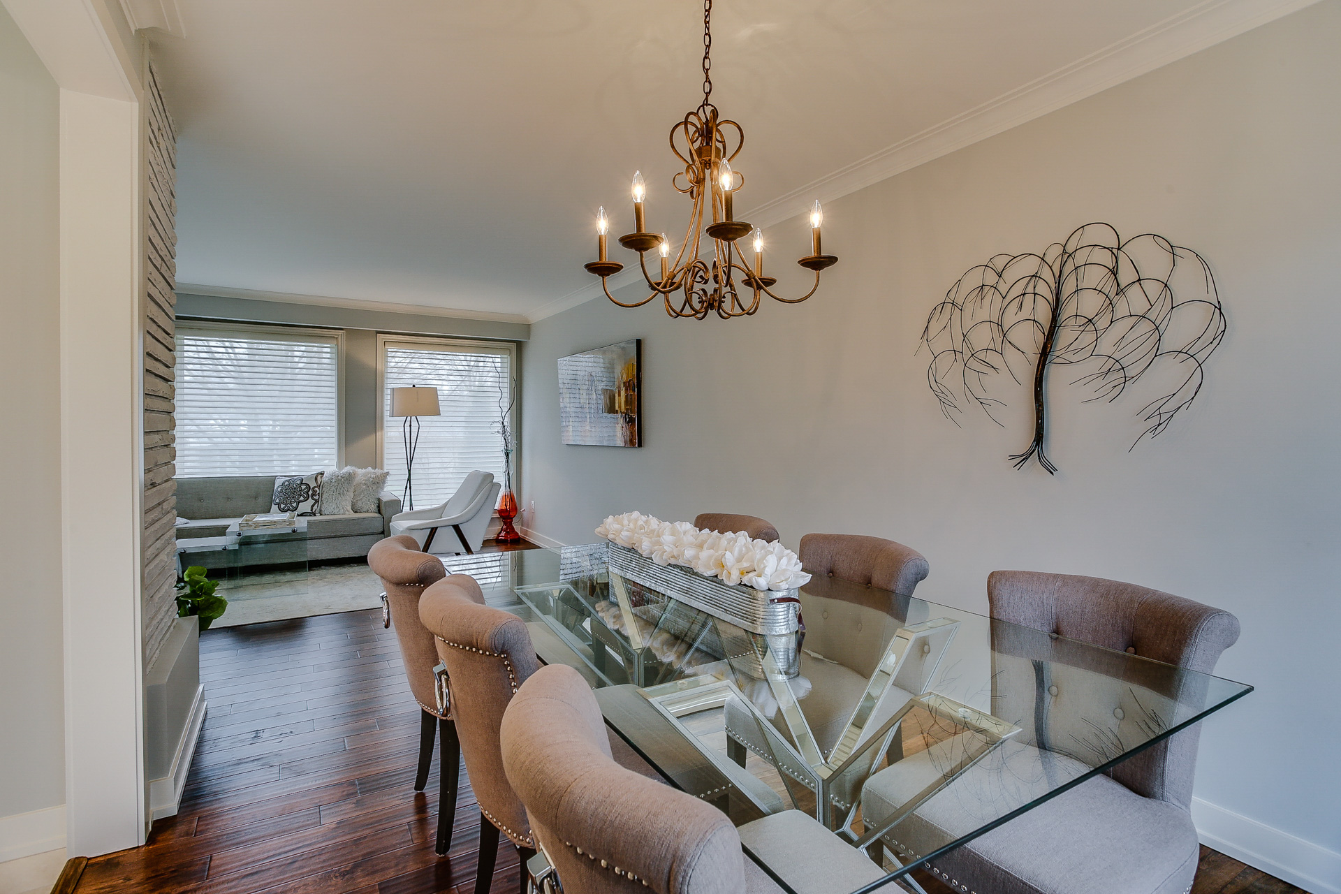 Dining Room, 26 Boxbury, Etobicoke Home Staging