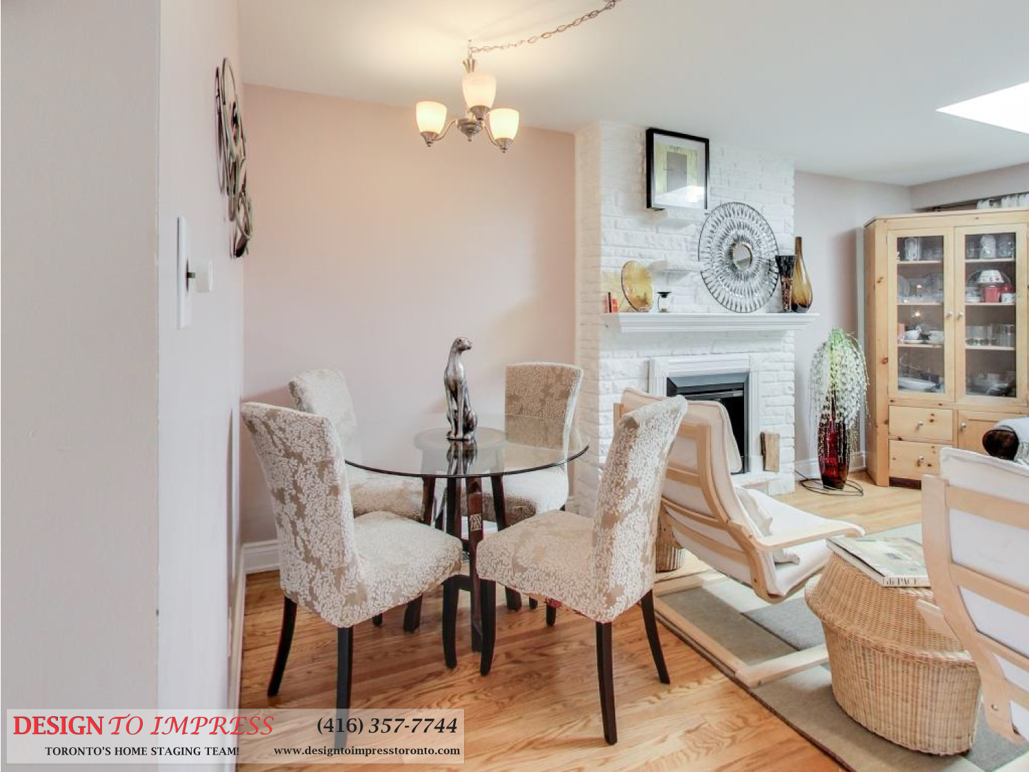 Dining Room, 41 Bournville, Scarborough Home Staging