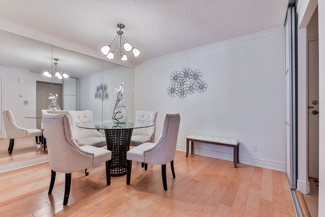 Dining Room, 5418 Yonge St., Toronto Home Staging