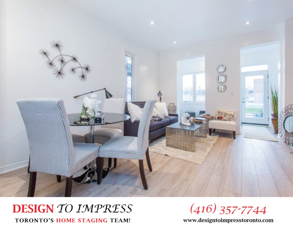 Dining Room, 574 Manning, Toronto Home Staging