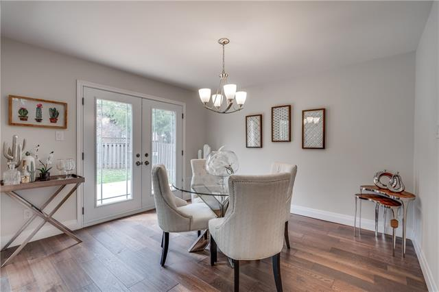 Dining Room, 66 Springfield, Thornhill Home Staging