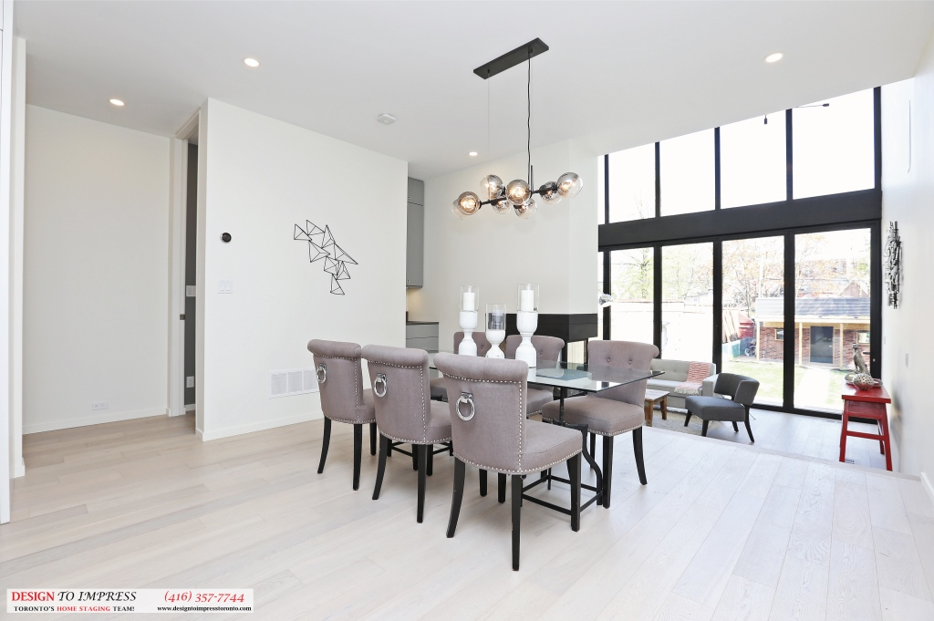 Dining Room, 75 Parkway, Toronto Home Staging