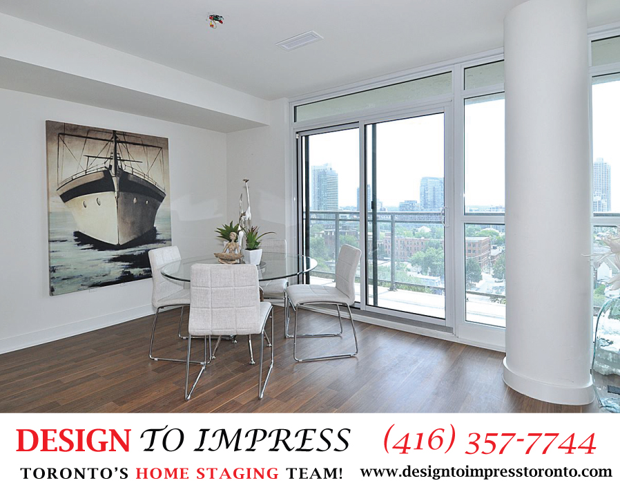 Dining Room, 78 Tecumseth, Toronto Condo Staging