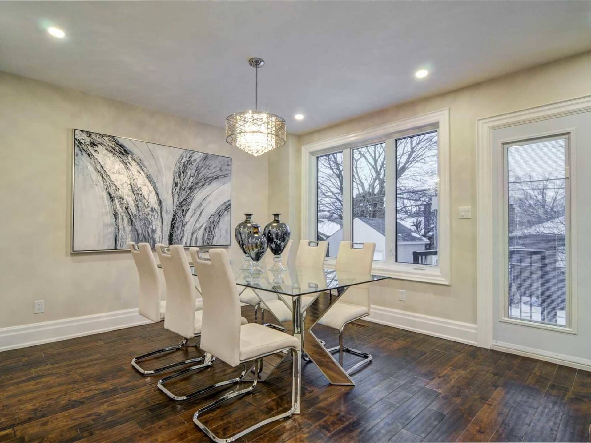 Dining Room, 9 Lloyd Manor, Toronto Home Staging