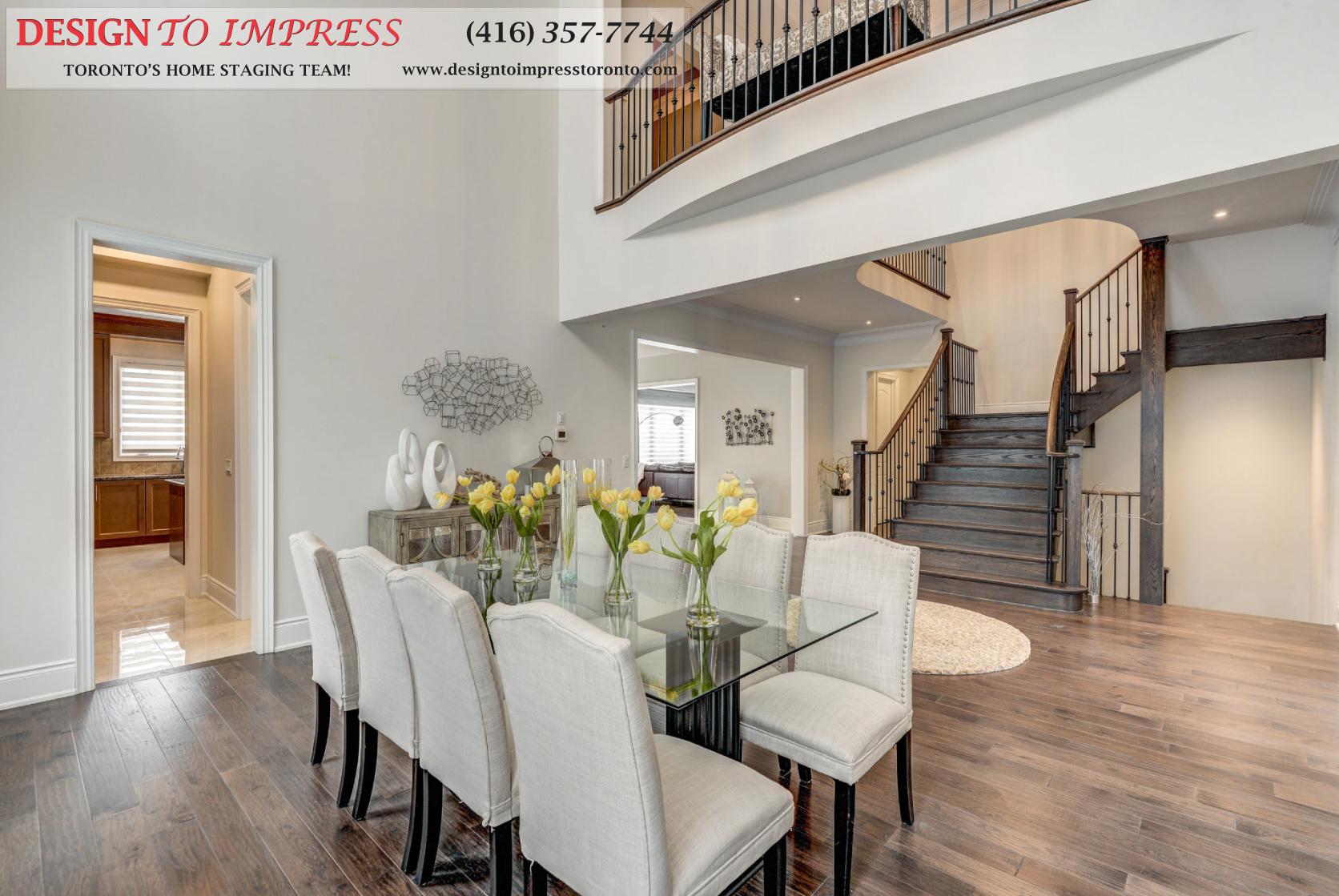 Dining Room, 30 Spain, Brampton Home Staging