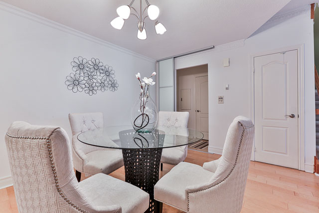 Dining Room Side, 5418 Yonge St., Toronto Home Staging