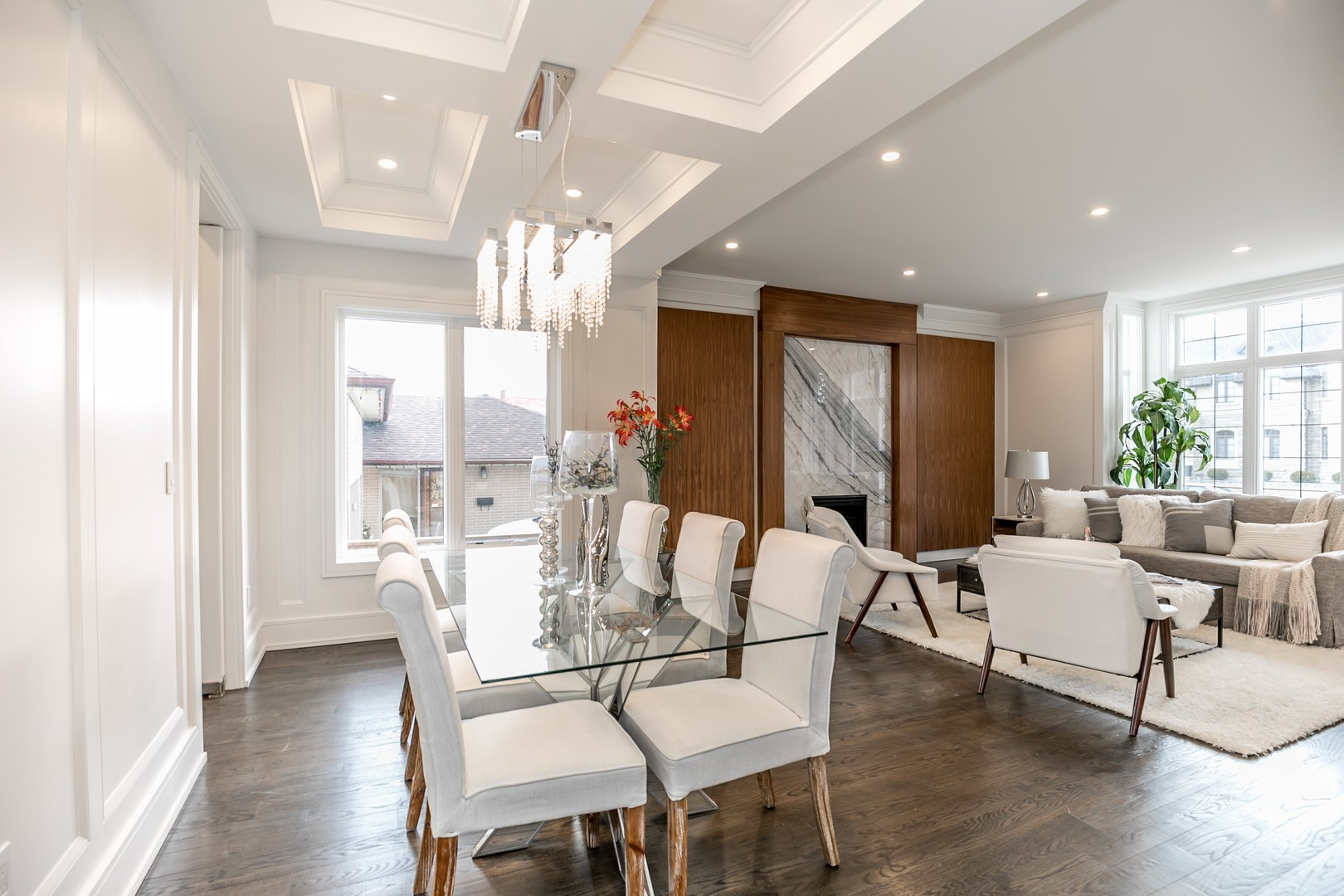 Dining Room and Sitting Area, 19 Ryder, Vaughan Home Staging
