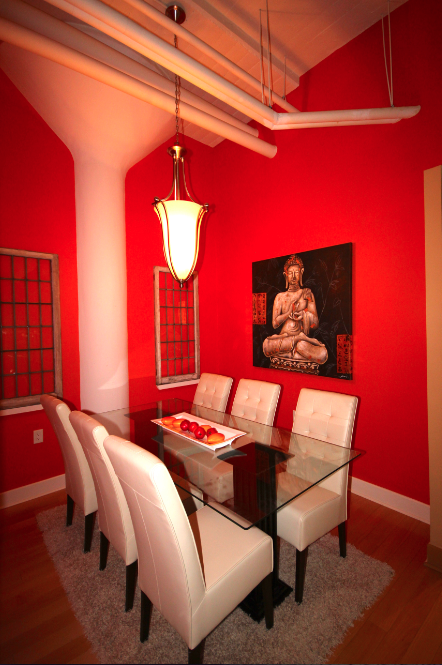 Dining Room, 1001 Roselawn, Toronto Home Staging