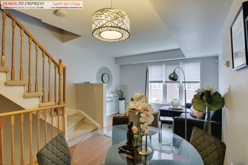Dining Room, 41 Foundry, Toronto Home Staging