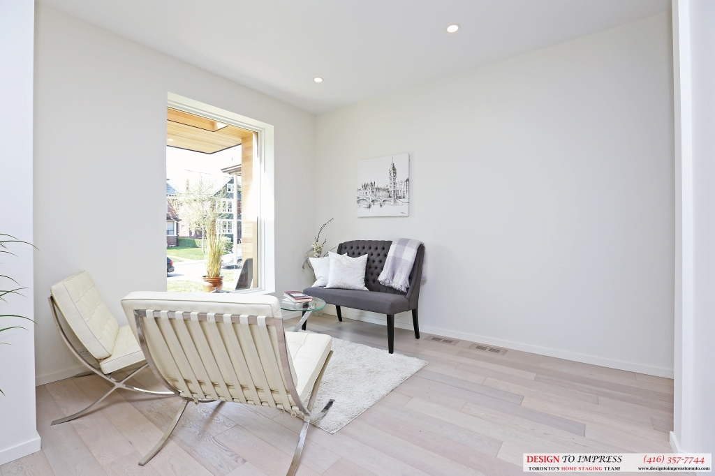 Empty Room, 75 Parkway, Toronto Home Staging