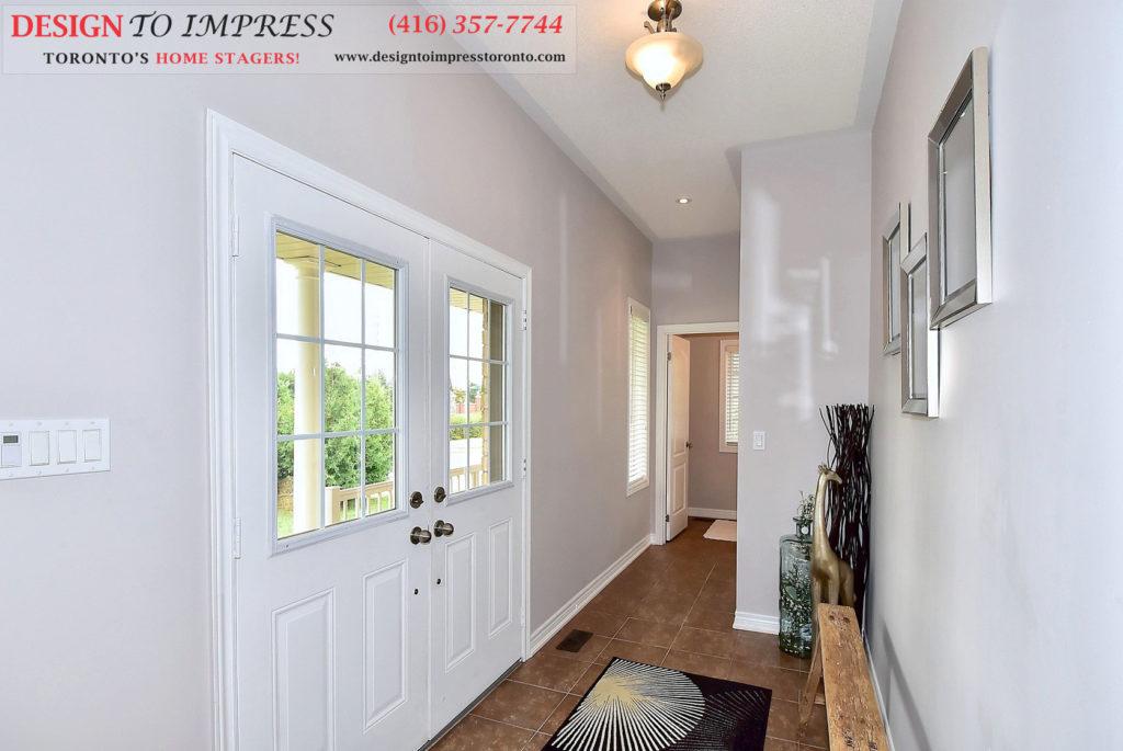 Entrance, 132 Israel Zilber, Vaughan Home Staging