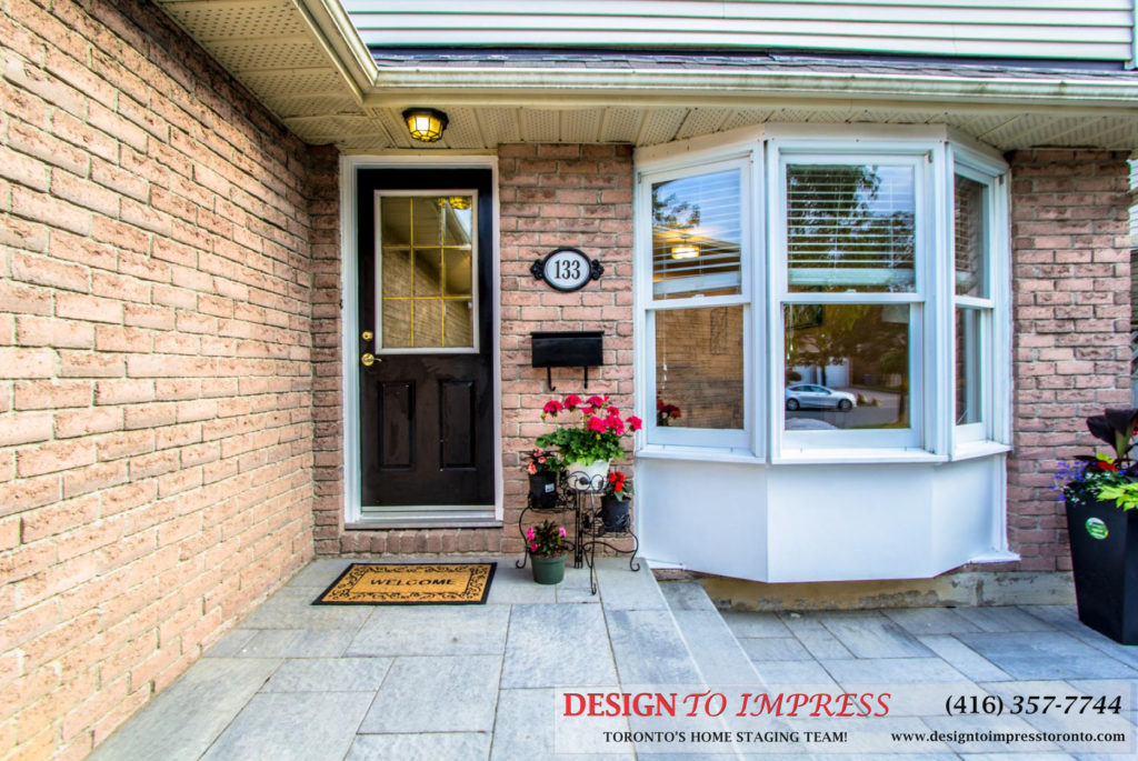 Entrance, 133 Huntington Park, Thornhill Home Staging