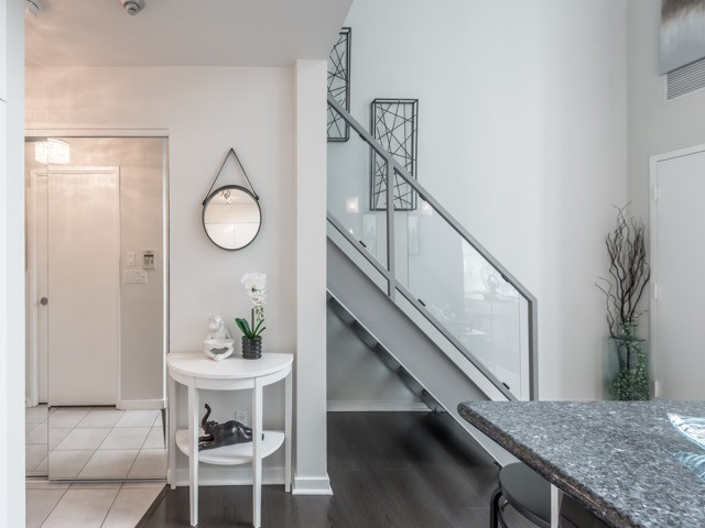 Entrance, 300 Manitoba, Toronto Condo Staging