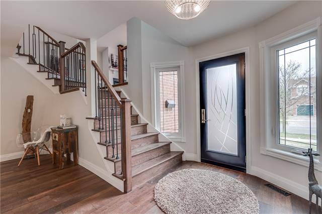 Entrance, 66 Springfield, Thornhill Home Staging