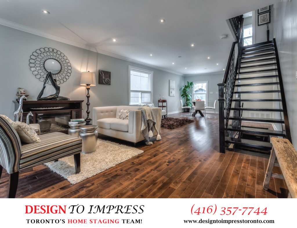 Entrance View, 22 Rhodes, Toronto Home Staging