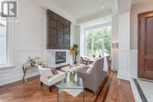 Family Room, 188 Glenvale, Toronto Home Staging