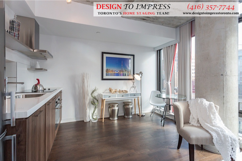 Family Room, Fashion House, Toronto Condo Staging