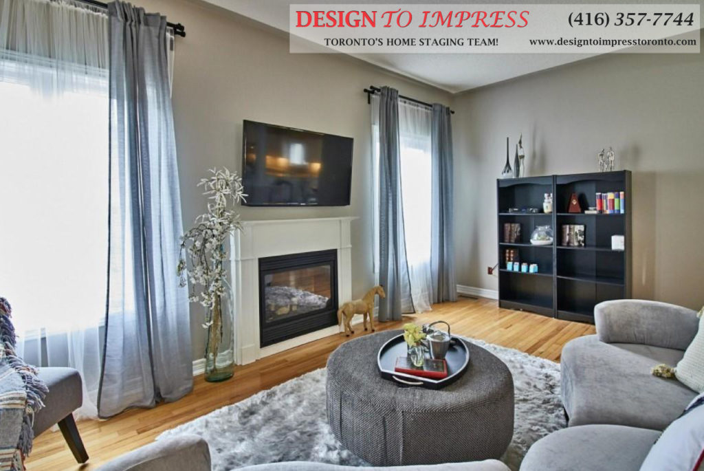Fireplace, 84 Barchester, Whitby Home Staging