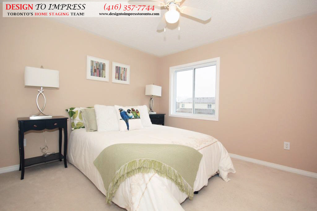 Fourth Bedroom, 133 Tarragona, Toronto Home Staging