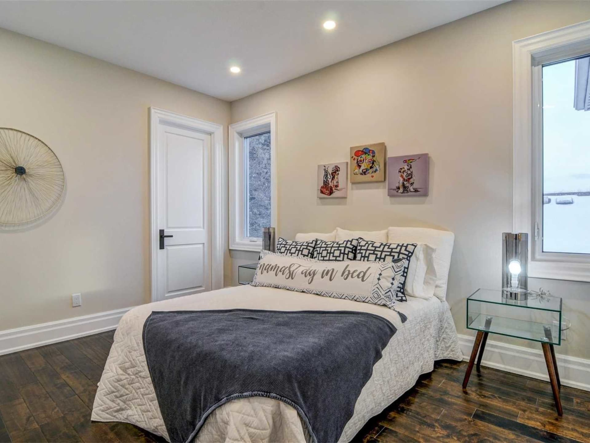 Fourth Bedroom, 9 Lloyd Manor, Toronto Home Staging