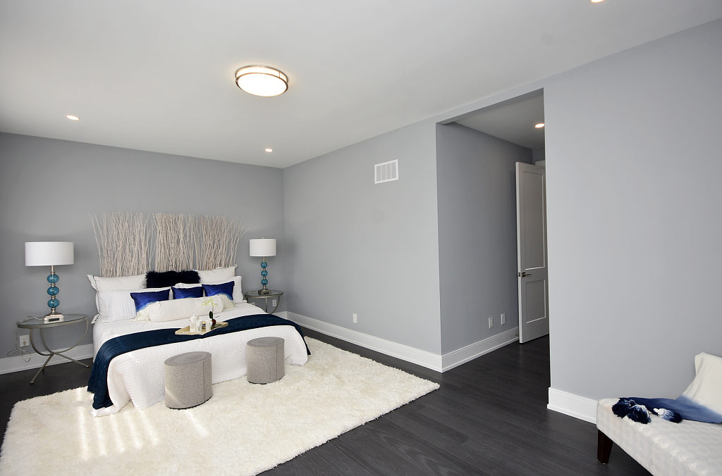 Fourth Bedroom Entrance, 948 Third, Mississauga Home Staging
