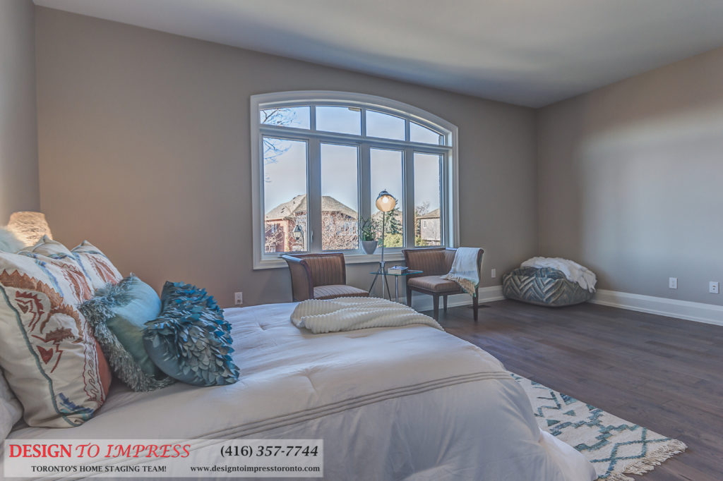 Fourth Bedroom Window, 1297 Fawndale, Pickering Home Staging