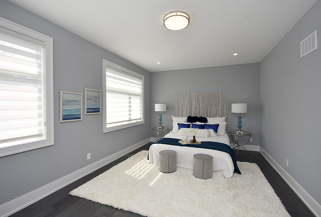 Fourth Bedroom Window, 948 Third, Mississauga Home Staging