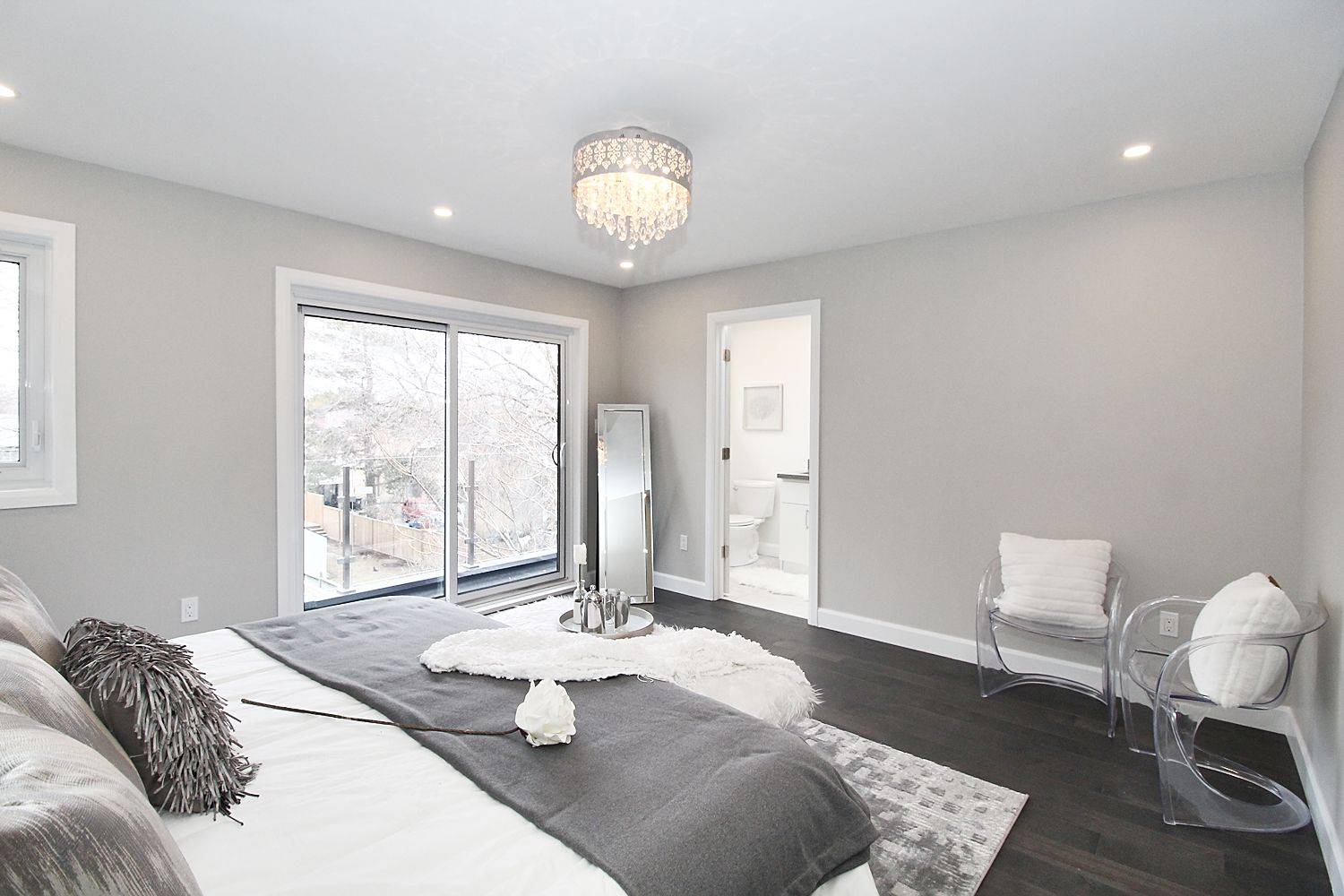 Fourth Bedroom View, 182 Oak Park, East York Home Staging