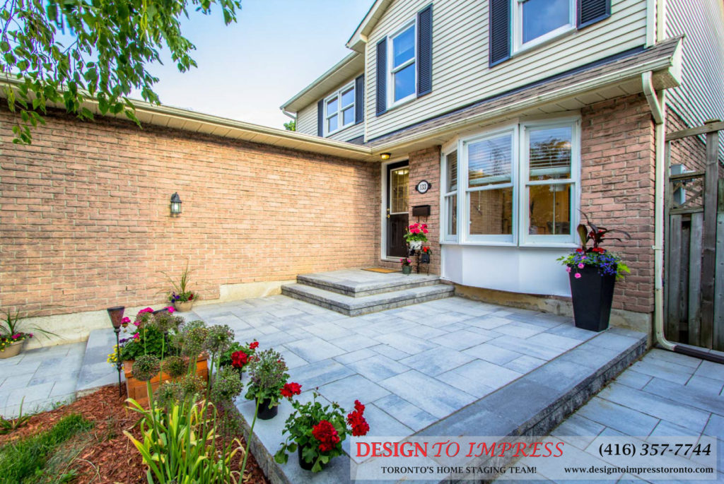 Front Door, 133 Huntington Park, Thornhill Home Staging