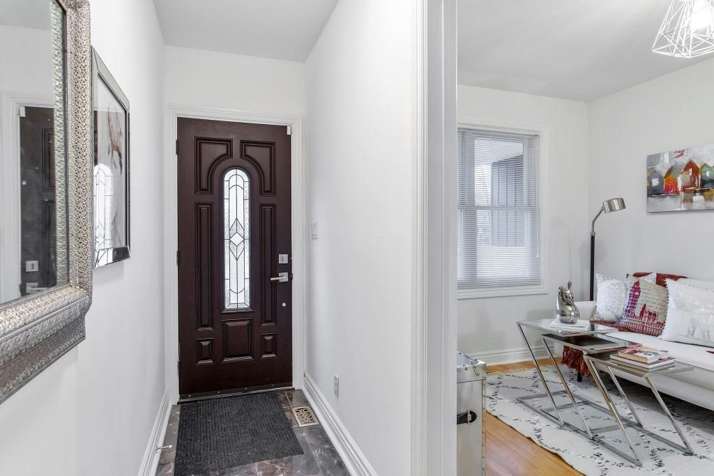Front Door, 723 Markham, Toronto Home Staging