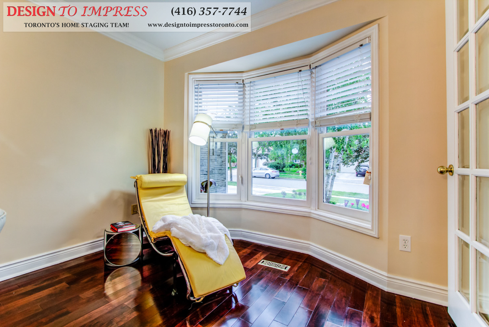 Front Window, 133 Huntington Park, Thornhill Home Staging
