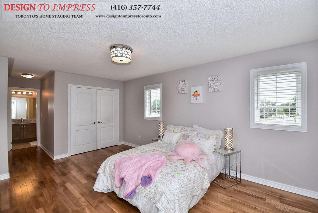 Girl's Bedroom, 132 Israel Zilber, Vaughan Home Staging