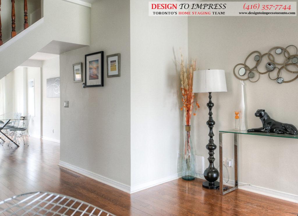 Hallway on Main Floor, 160 Hillside, Toronto Home Staging