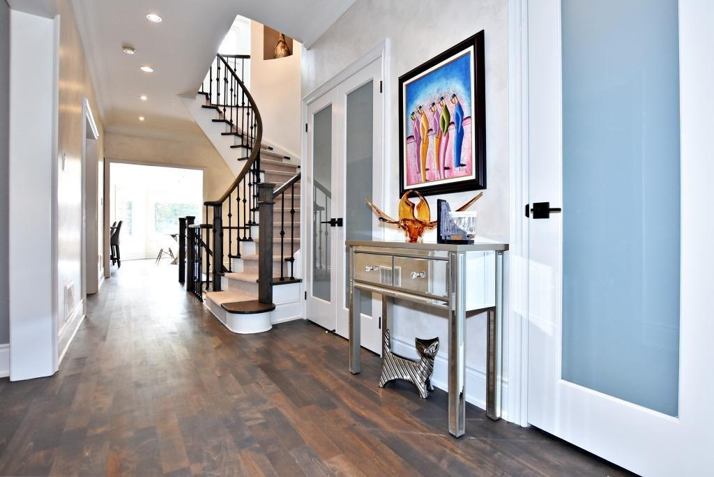 Hallway on Main Floor, 91 Wheeler, East York Home Staging