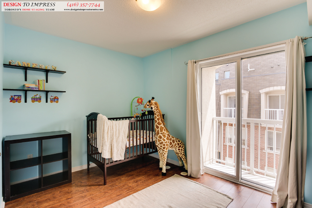 Kids Bedroom, 41 Foundry, Toronto Home Staging