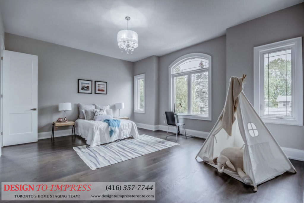 Kids Bedroom, 1787 Spruce Hill, Pickering Home Staging