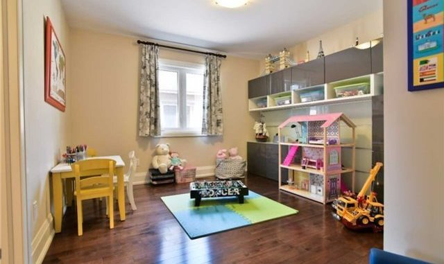 Kids Playroom, 1939 Spruce Hill, Pickering Home Staging
