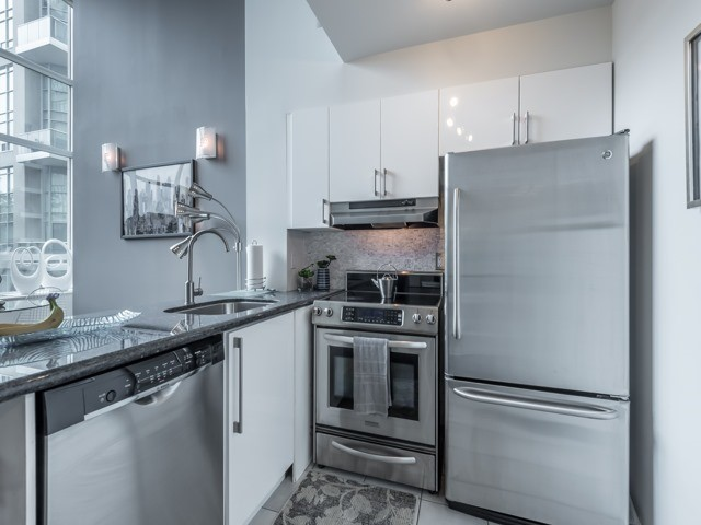 Kitchen, 300 Manitoba, Toronto Condo Staging