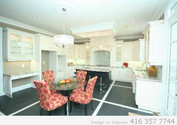 Kitchen, 448 Toynevale, Pickering Home Staging