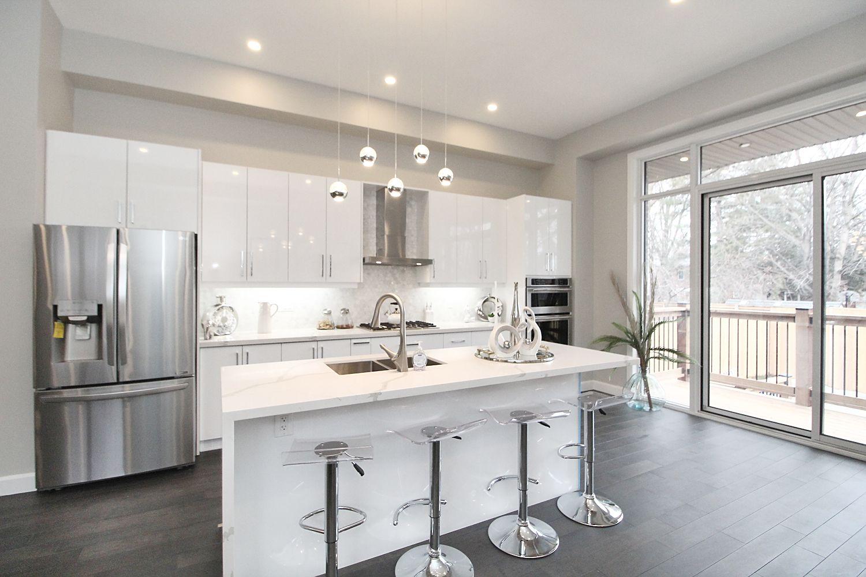 Kitchen Area, 182 Oak Park, East York Home Staging