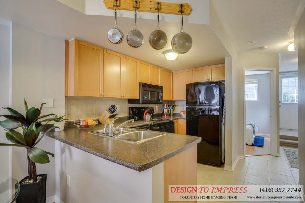 Kitchen, 31 Foundry, Toronto Home Staging