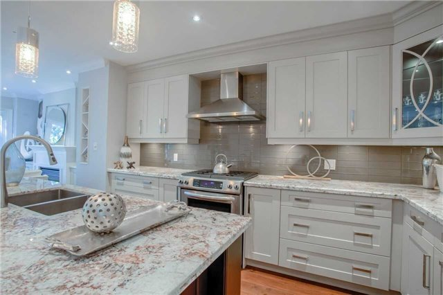Kitchen Countertop, 202 Windermere, Toronto Home Staging