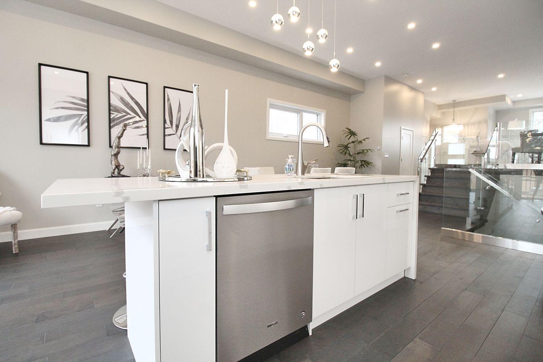 Kitchen Dishwasher, 182 Oak Park, East York Home Staging