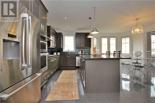 Kitchen Island, 12 Anderson Cove, Nobleton Home Stagingv