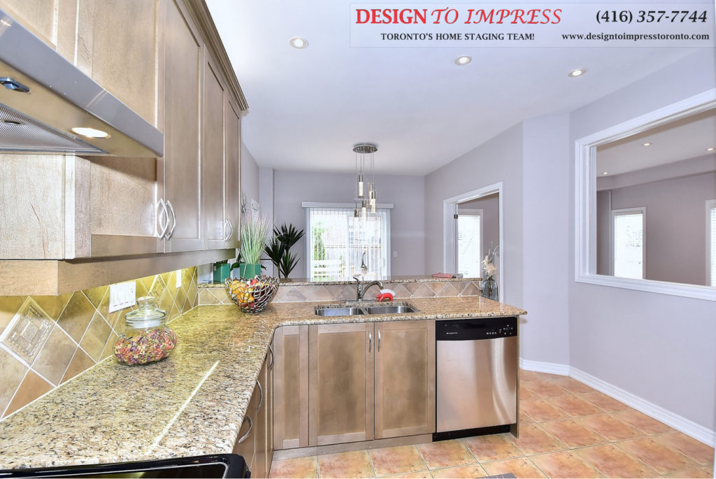 Kitchen Sink, 132 Israel Zilber, Vaughan Home Staging