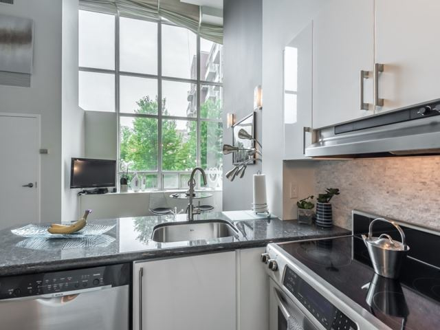 Kitchen Sink, 300 Manitoba, Toronto Condo Staging