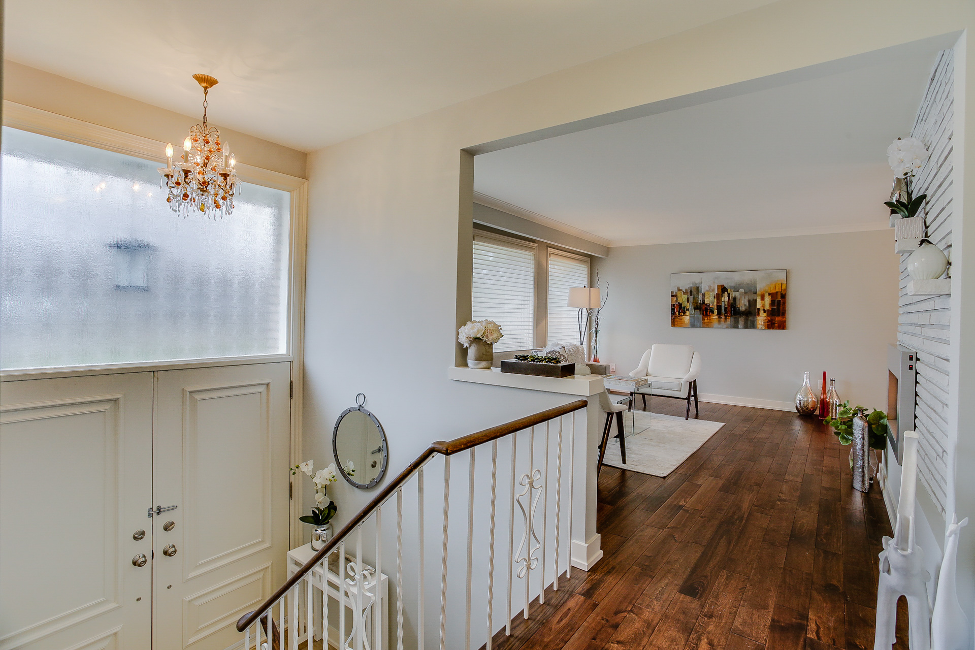 Landing, 26 Boxbury, Etobicoke Home Staging