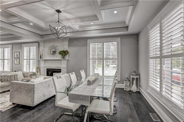 Living Room and Dining Room, 175 The Kingsway, Etobicoke Home Staging