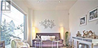 Living Room, 1204 Islington, Toronto Home Staging